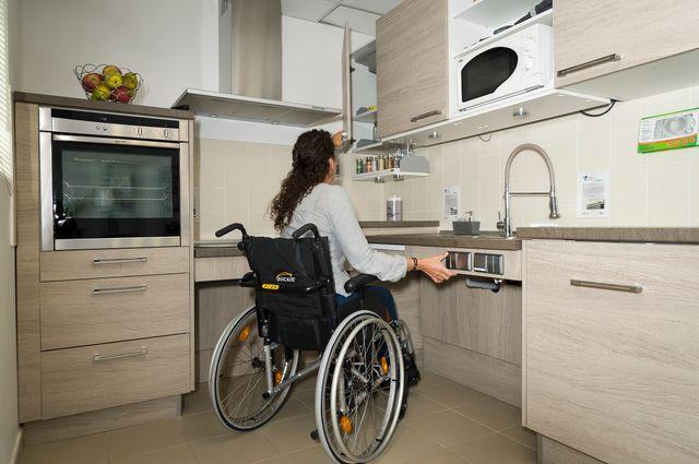 aménagement cuisine personne âgée