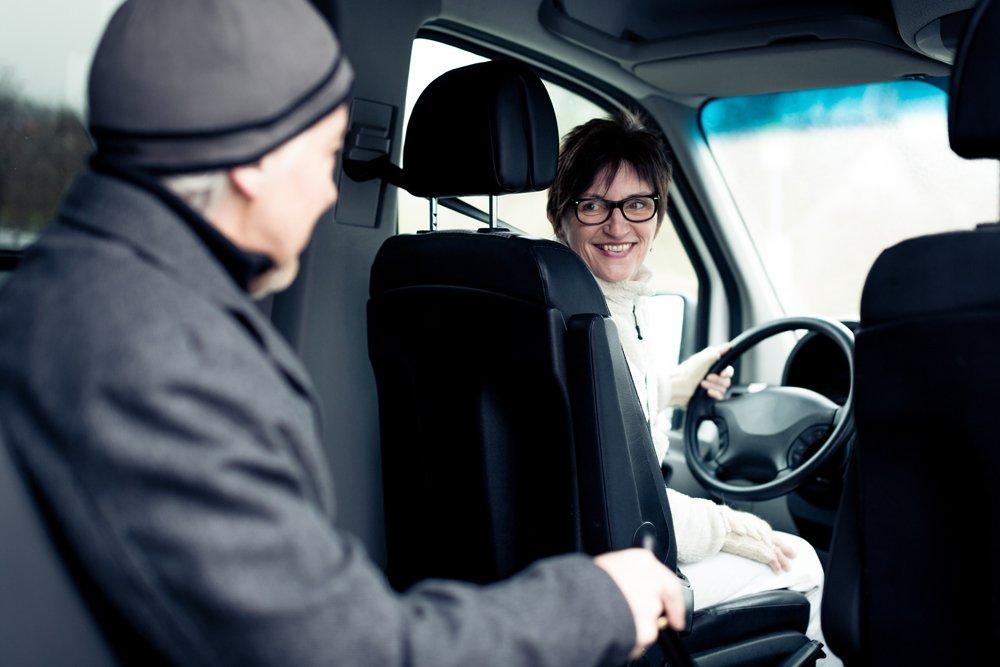 transport taxi conventionné personne âgée