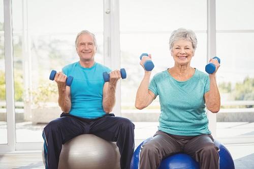 sport personne âgée