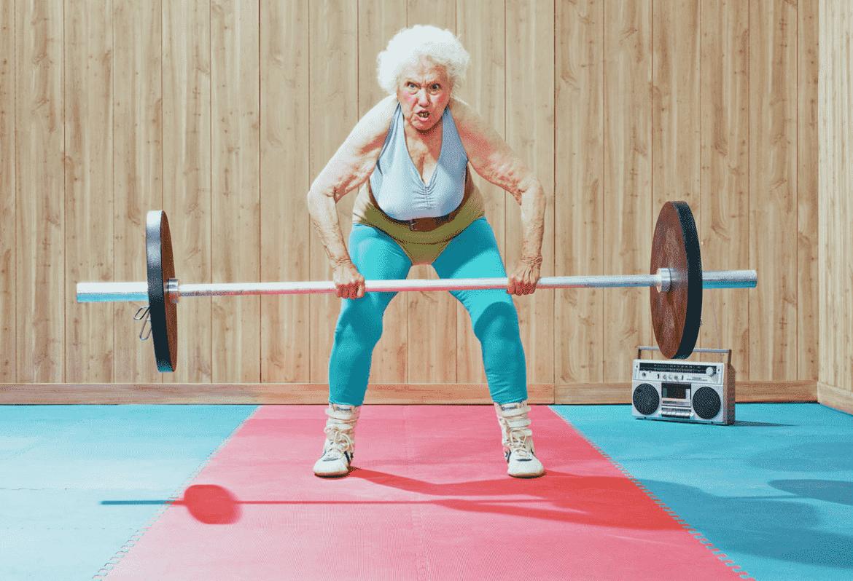 personne âgée active